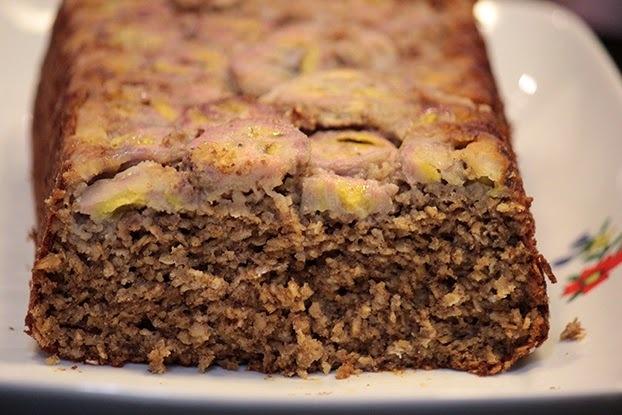 bolo de farinha de aveia e ameixa de liquidificador