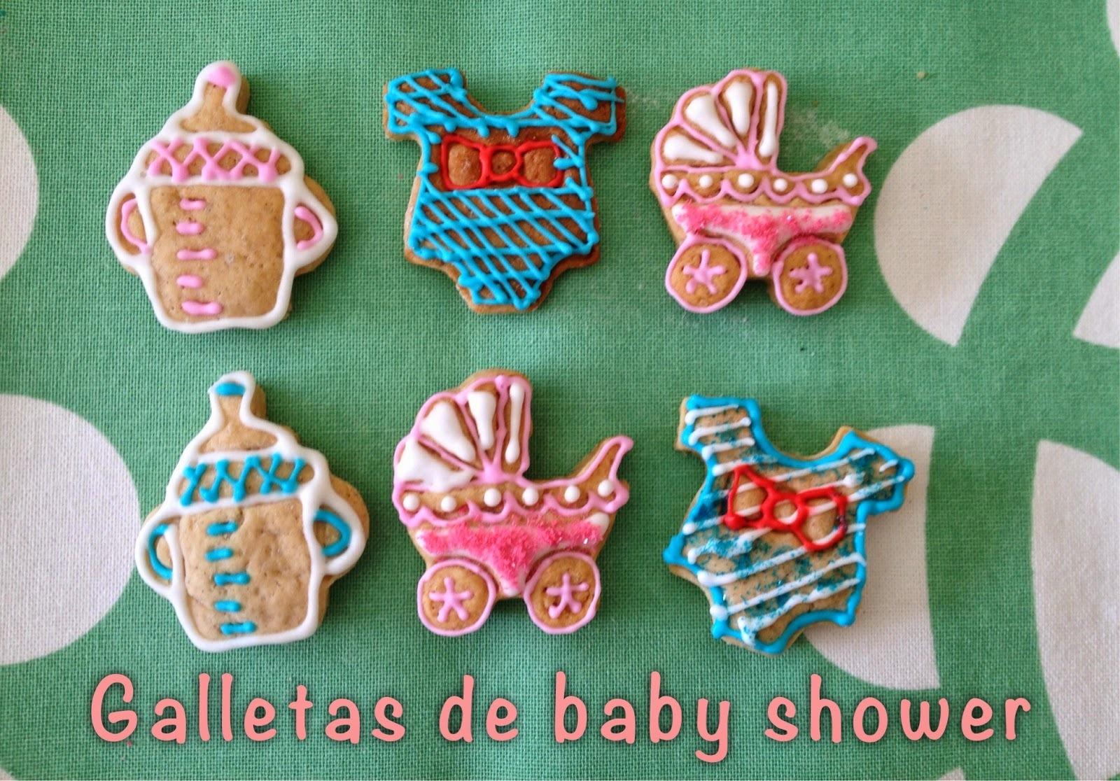 Galletas decoradas para el baby shower de mi amiga Lydia
