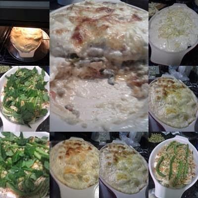 Minha lasanha de frango com vegetais !