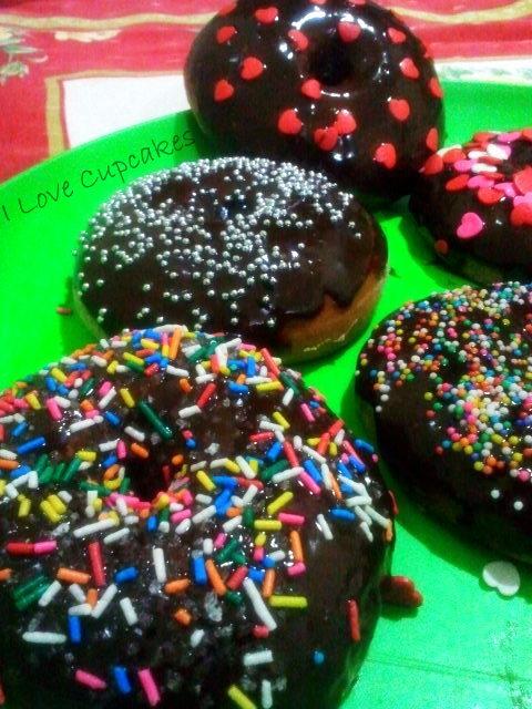 Donuts (ou rosquinhas) de Forno