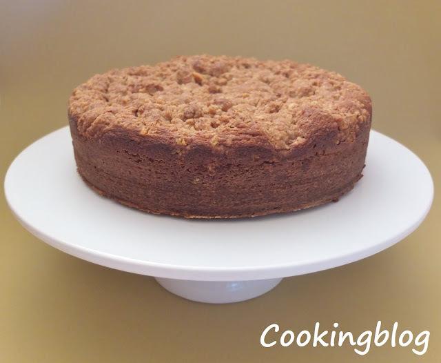 """""""Sour cream coffee cake"""" porque há coisas que não se conseguem traduzir..."""