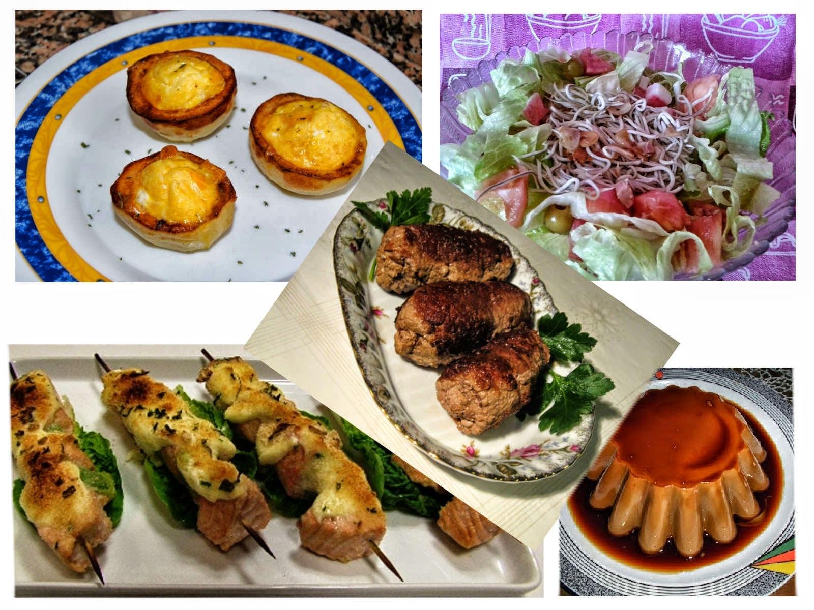 5 recetas deliciosas para un menú fresco