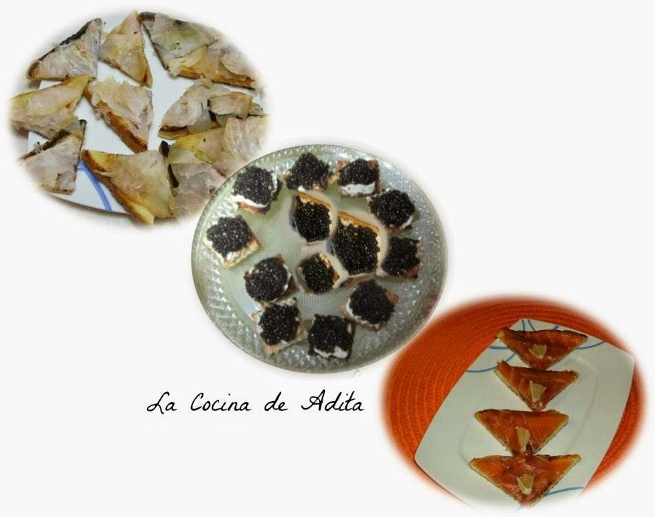 Verbena de ahumados y caviar