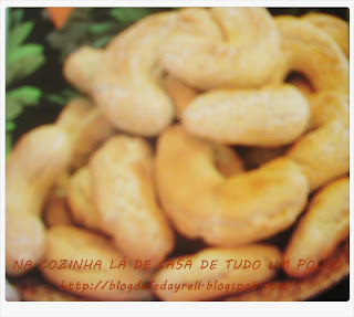 biscoito feito com fecula de mandioca