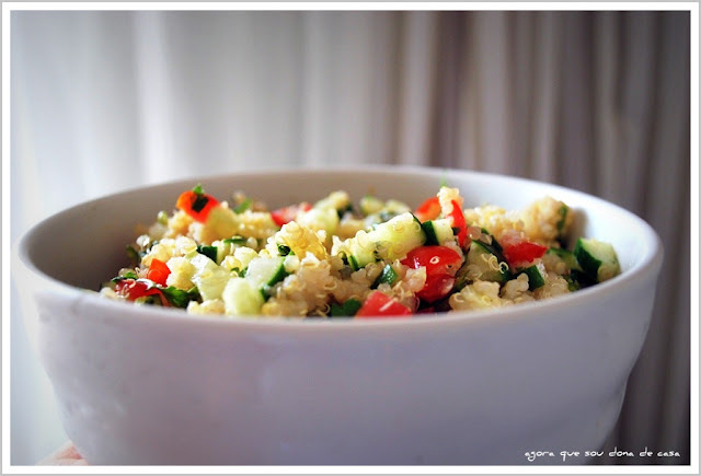 primícias do natal VII: tabule de quinoa real