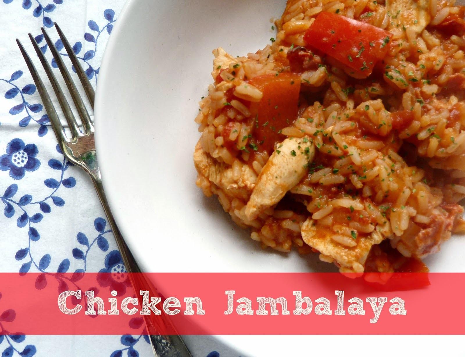 A one-pot recipe ~ chicken jambalaya