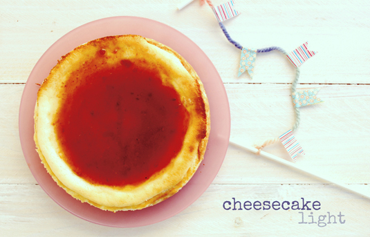 cheesecake light {un año más}