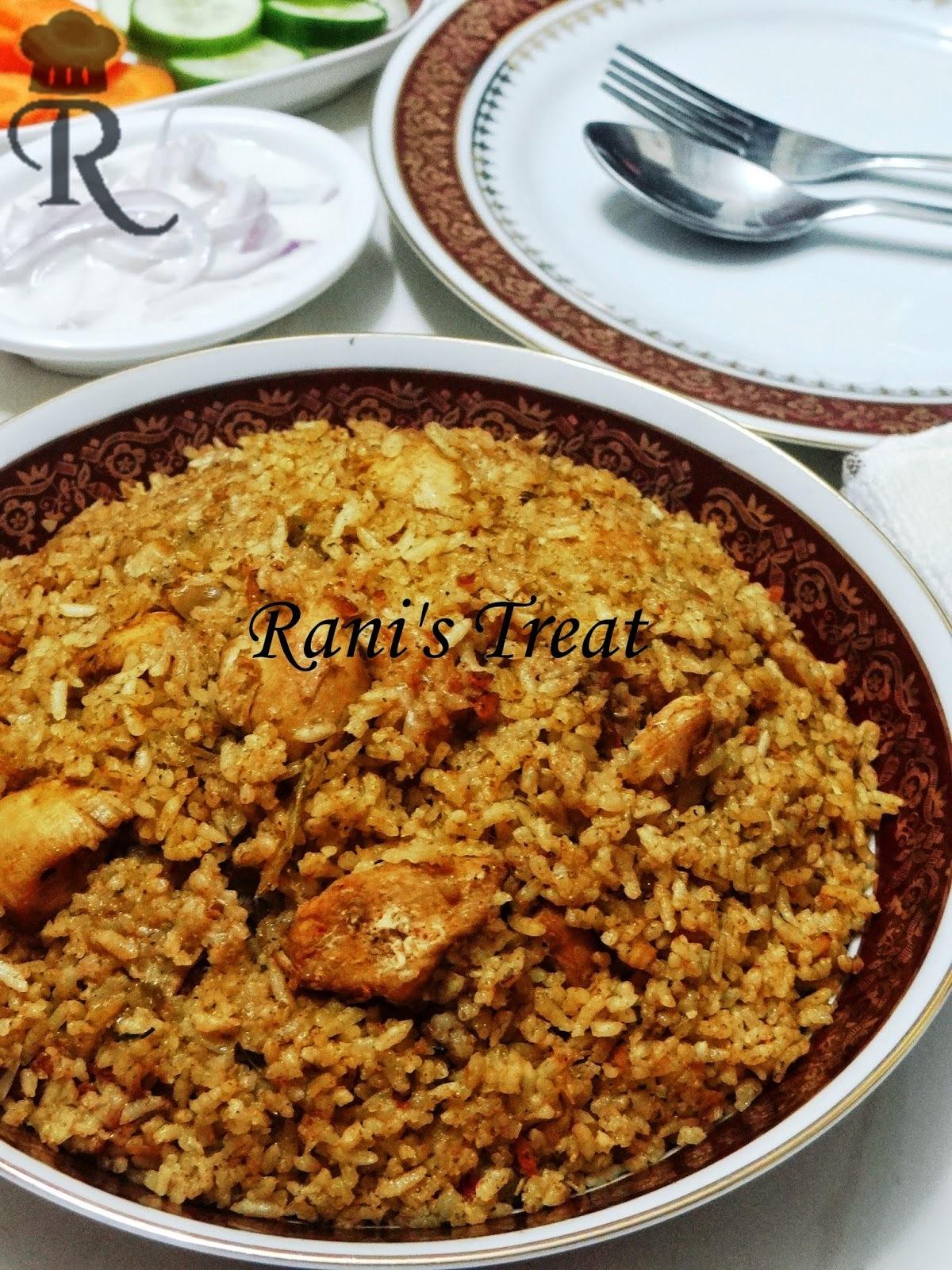 Dindigul Thalappakatti Chicken Biryani | Seeraga Chamba Chicken Biryani