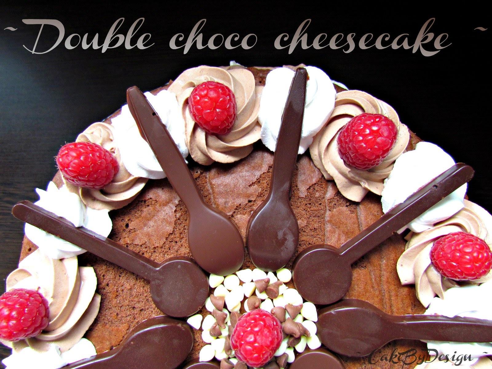 Cheesecake sa bijelom i tamnom čokoladom