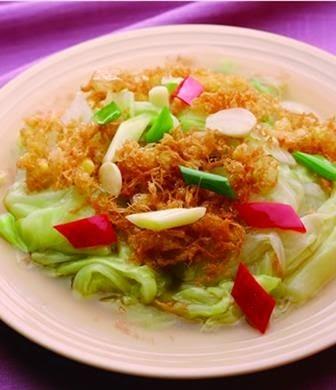 Meringues cabbage
