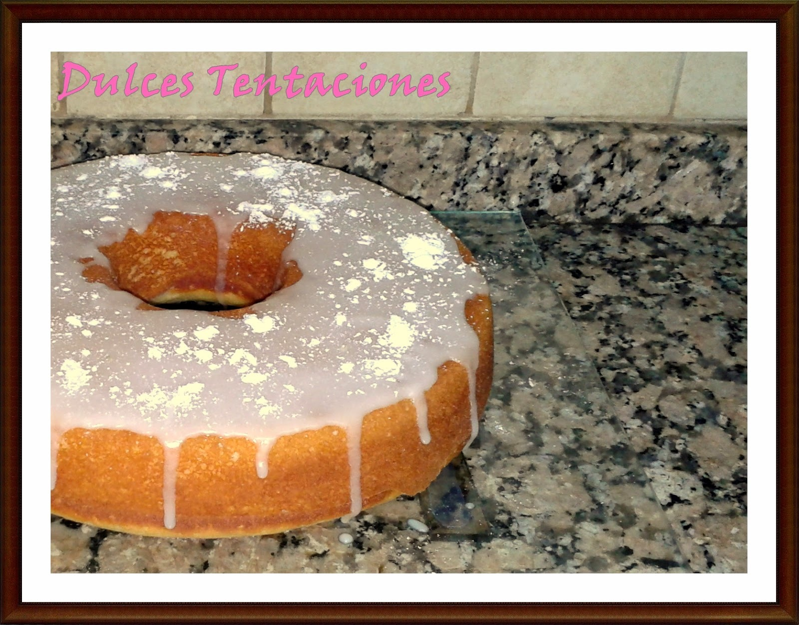 Bundt Cake de jengibre y limón!!!!