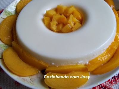 Manjar com Pêssegos da Sandra/Resultado Sorteio Café Pelé