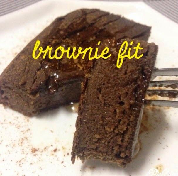 Brownie fit - FREE açúcar, glúten e lactose
