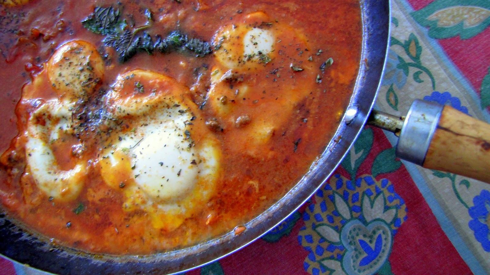 Shakshuka - Um prato da culinária mediterrânea