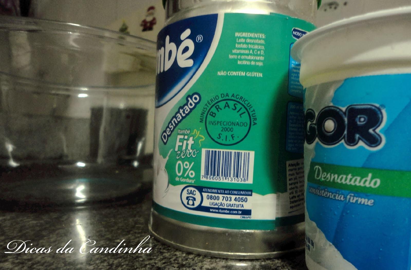 patês de iogurte