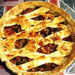 Torta de Frango ao Molho de Mostarda e Mel