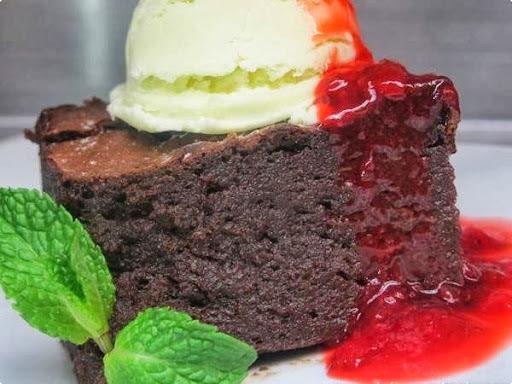 Bolo-Pudim-Brownie de Chocolate