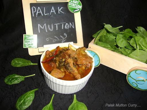 mutton Palak