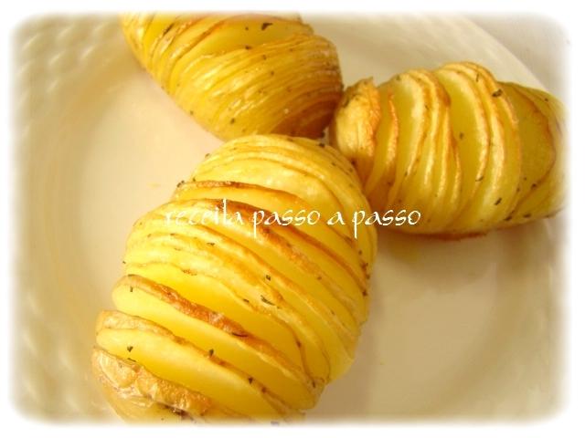 Batatas Suecas / Hasselback Potatoes / Hasselbackspotatis