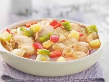 ensopado de bacalhau com batatas