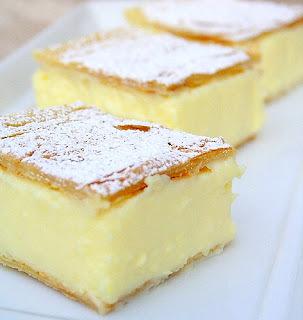 Vanilla slice - Krempita Dessert