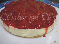Cheesecake de Morango Diet