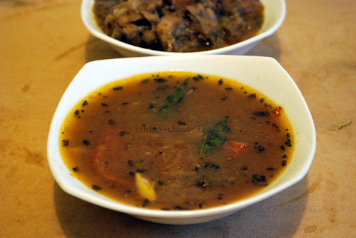 Classic Combo : Rasam and Pepper Chicken