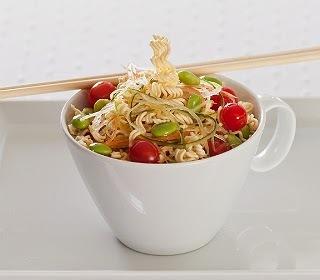 """Salada """"Crocante"""" ao Toque Oriental"""
