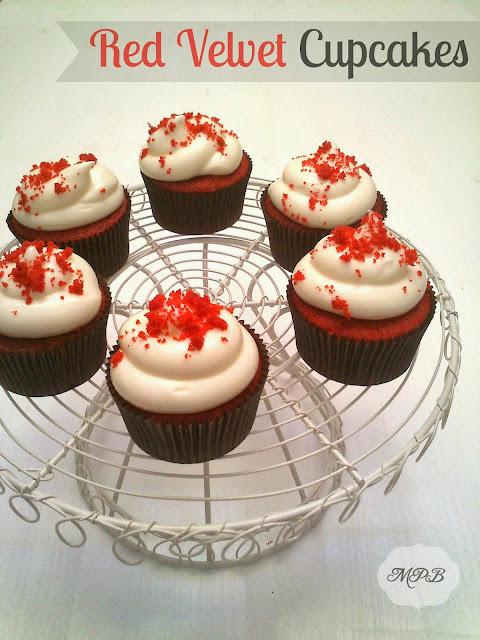 Cupcakes de terciopelo rojo (Red Velvet)