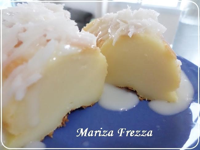 Bolo de coco diferente, de Mariza Frezza