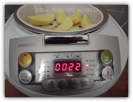 Mes essais de recettes au Multicuiseur PHILIPS