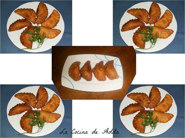 Empanadillas rellenas, de bonito en escbeche
