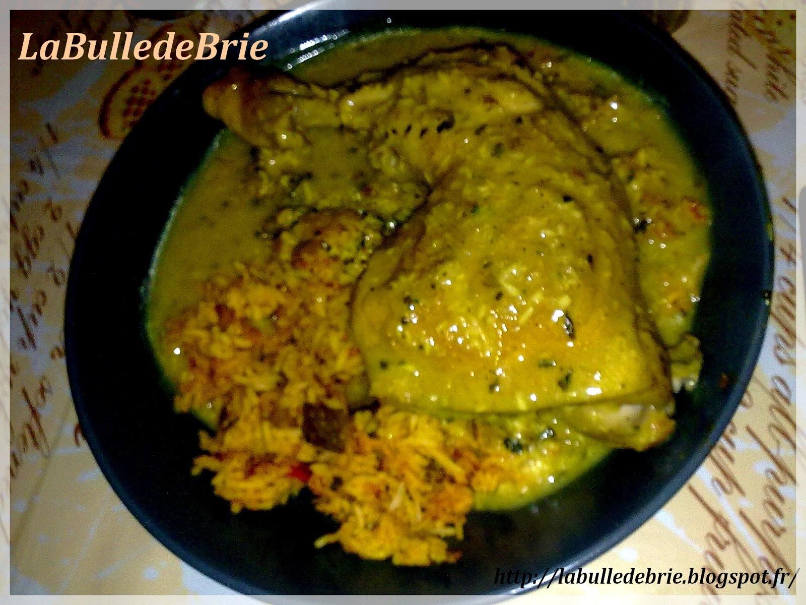 Poulet coco curry au cookéo
