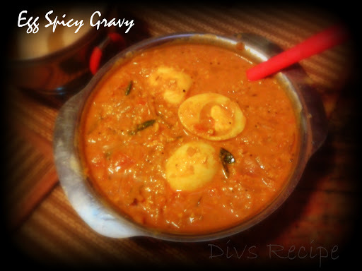 Egg Spicy Gravy