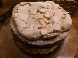 zingy lemon cheese cake