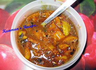 Amba Khatta {Sweet Mango Chutney}