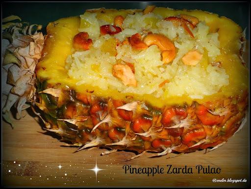 Pineapple Zarda Pulao