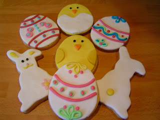 Galletas Decoradas para la Pascua