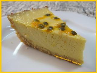 Receita de hoje: torta de maracujá
