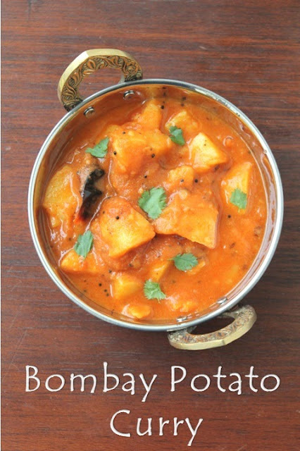 Bombay Potato Curry Recipe | No Onion and No Garlic Sabji Recipe