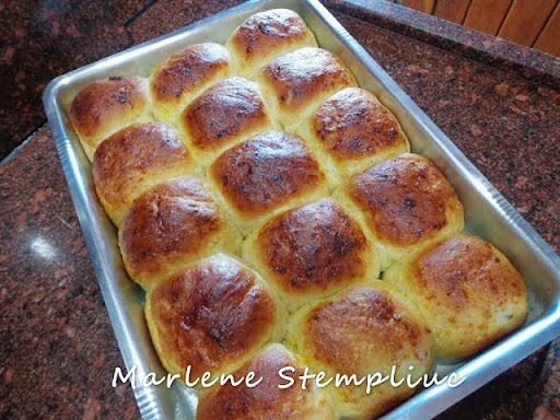 Pãozinho Doce Simples da Marlene