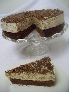 Cokoladovo - marcipanova torta