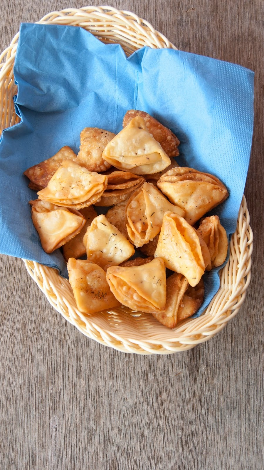 Mathri / A fried snack flavoured with dry herbs