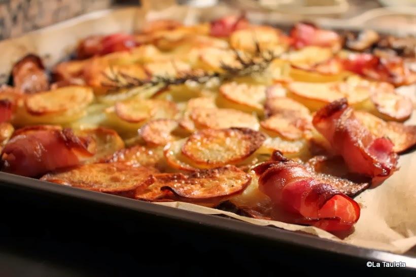 Chips de Patata al aroma de Romero con Bacon crujiente