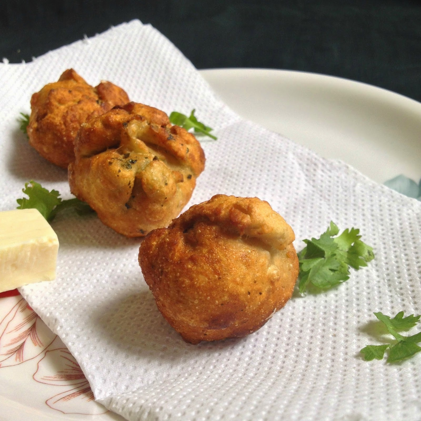 Cheese Fritters - Easy Snack Ideas- Cheese Recipes