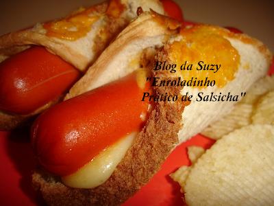 Enroladinho Prático de Salsicha