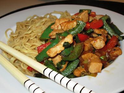 wok med fisk