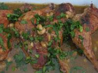 coxa de frango cozida