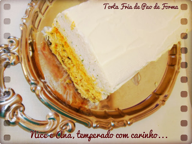 Torta Fria de Pão de Fôrma