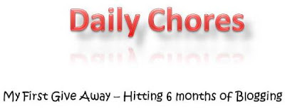 Giveaway @ Daily Chores